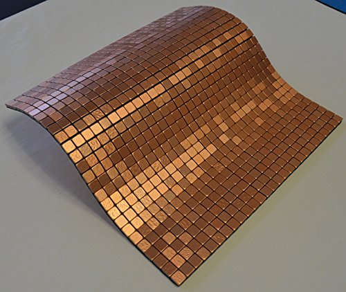 Vinyl backsplash tiles