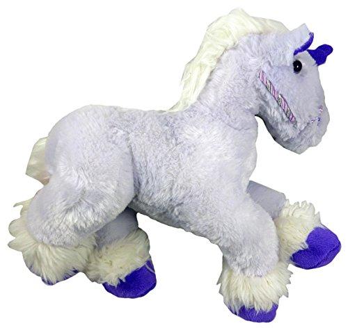 42 centimetri Fantasy Unicorn peluche Peluche - Fluffy Viola design [Toy]