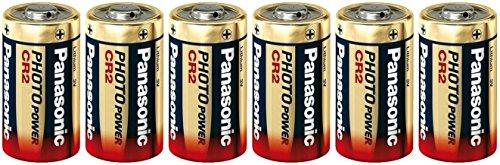 Panasonic Cr2 Ultra Lithium Photo Battery 3V DL-CR2 6 Pack (Panasonic Cr2 Lithium 3v Battery compare prices)