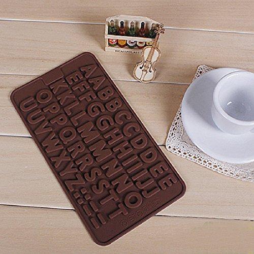QHGstore Simple Bricolage Lettre Biscuit Gateau au chocolat Cookie Cutter Mould Outils Couleur alšŠatoire