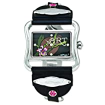 Ladies Ed Hardy Victoria Orchid 45x25mm Watch