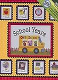 Off to School Yellow Bus Deluxe School Years Memory Keeper Scrapbook Pre+K-8TH Grade