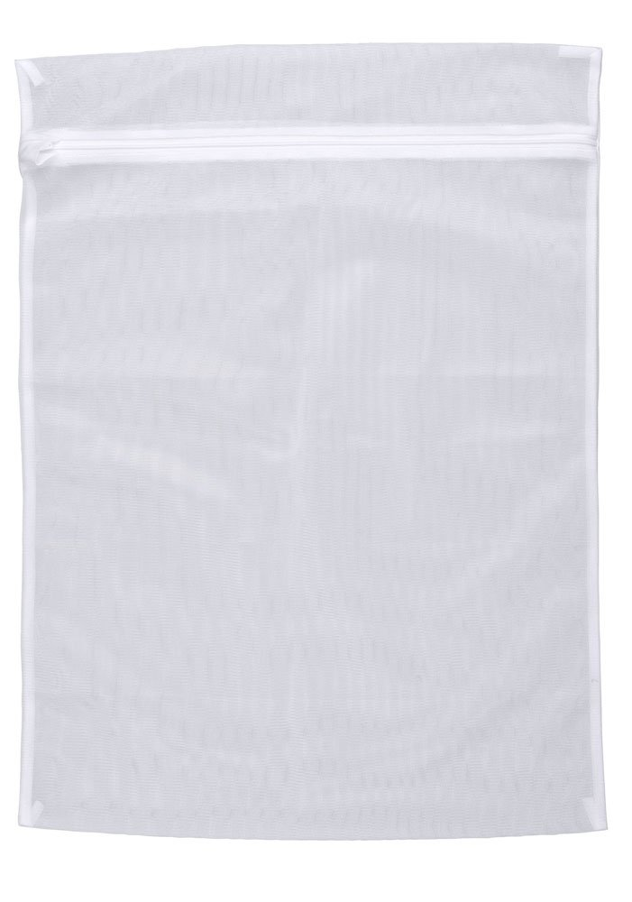 Wenko 3751700100 - Red de poliéster para un 3 kg de ropa, lavable a 90 grados (50 x 70 cm), color blanco   revisión y más información