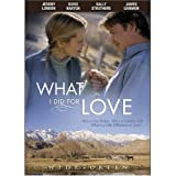 What I Did for Love [DVD] [Region 1] [US Import] [NTSC]