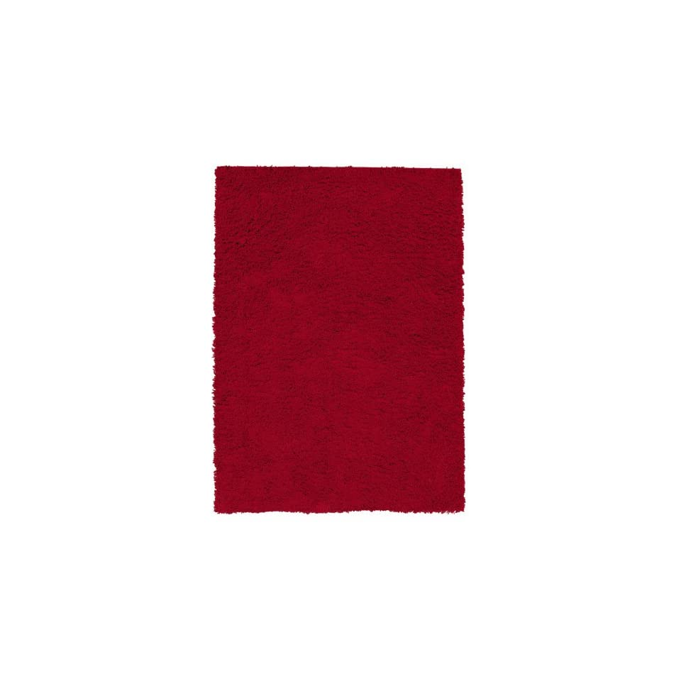 Shaw Really Red Shag Area Rug                                                               5 x 7