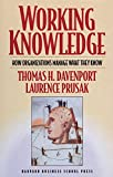 Working Knowledge (1578513014) by Davenport, Thomas H.
