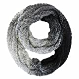 Luxury Divas Gradient Ombre Winter Circle Scarf