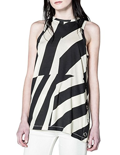 Cheap Monday Women's Lucid Woman's Striped Tank Top In Size S Striped