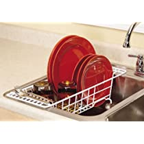 ClosetMaid Over-Sink-Drainer White