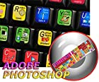 NEW ADOBE PHOTOSHOP KEYBOARD STICKERS FOR DESKTOP, LAPTOP AND NOTEBOOK