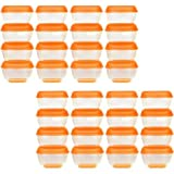 Vital Baby Press n Pop Mini Freezer Pots Orange 1 Ounce 24 Pack