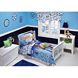 Toy Story Buzz and Woody Toddler Bedding 4-Piece Set