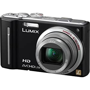 Panasonic Lumix DMC-ZS7 12.1 MP Digital Camera with 12x Optical Image Stabilized Zoom and 3.0-Inch LCD - Black