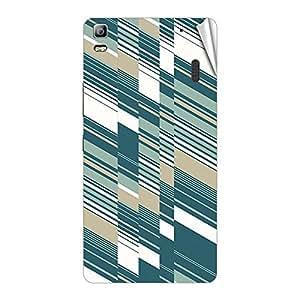 Garmor Designer Mobile Skin Sticker For Lenovo A6000 - Mobile Sticker