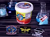 "Bundle- (5""quart Size) Los Pollos Hermanos ""Fry Batter"" Bucket. Replica Prop, Breaking Bad, Stickers, & Blue Sky Candy."