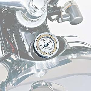 デイトナ(DAYTONA) ディップスティック付油温計 クロームメッキ(O-リング付き) 12104