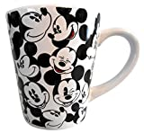 Set of 2 Disney Mickey Minnie Mouse Coffe Cups Mugs Porcelain 13 Ounces