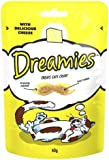 Dreamies Cat Treats Cheese 60g (Pack of 8)