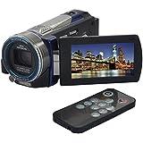 Ckeyin ® Caméscope numérique - 16Mp Max 1080P FHD - 100 x Super Zoom numérique - Vision de Nuit infrarouge - 3.0
