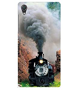 Doyen Creations Designer Printed High Quality Premium case Back Cover For Sony Xperia Z1