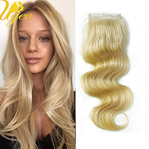 ugea-100-real-human-hair-bleach-blonde-613-top-lace-closure-brazilian-remy-hair-14-44-body-wave-free
