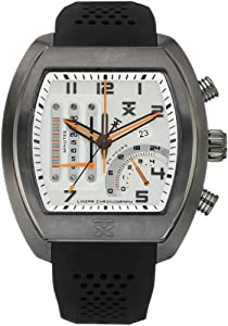 TX T3C487 Gents Chronograph Black Rubber Strap Watch
