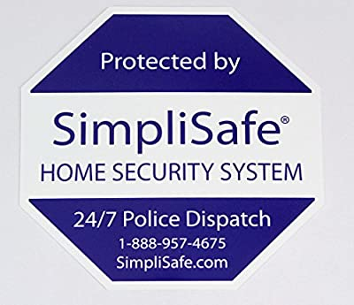 Yard Sign for SimpliSafe Home Security System