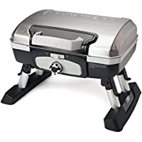 Cuisinart CGG-180TS Petit Gourmet Portable Tabletop Gas Grill (Stainless Steel)
