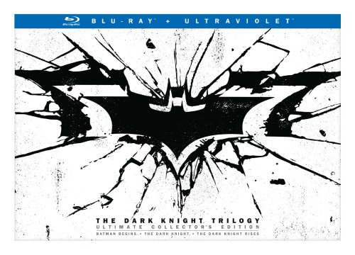 The Dark Knight Trilogy Ultimate Collectors Edition Blu-ray at Gotham City Store