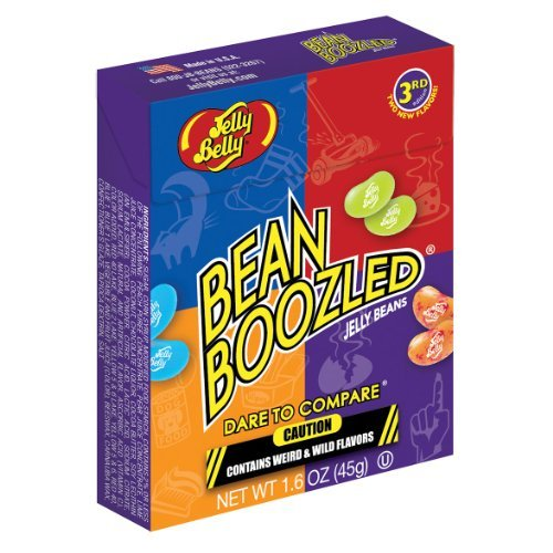 Jelly Belly BeanBoozled Jelly Beans 3rd Edition NEW Flavors Stinky Socks 1.6 oz