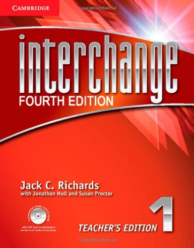 Interchange Level 1 Teacher's Edition with Assessment Audio CD/CD-ROM (Interchange Fourth Edition) PDF