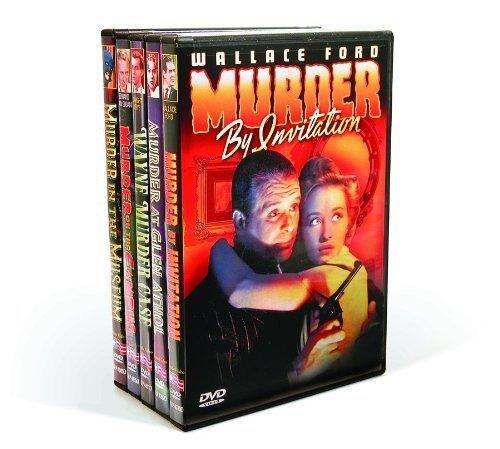 DVD : Vintage Hollywood Murder Mysteries (5 Discos)