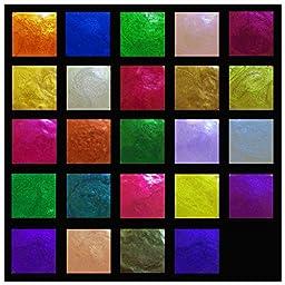 LuminarteTwinkling H20s Shimmering Watercolors Essential Earth Twenty Four Piece Mini Kit