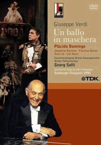 Un Ballo In Maschera (Placido Domingo) - Verdi - DVD