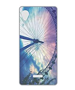 Techno Gadgets Back Cover for gionee pioneer p4s