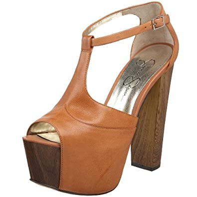 Jessica Simpson Women's Dany Platform Sandal,Light Tan,10 M US