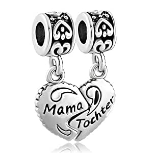 Pugster Herzen Mama & Tochter Mother Daughter DPC_FA392