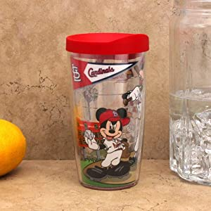 MLB Tervis Tumbler St. Louis Cardinals Youth 16oz. Wrap Travel Tumbler with Lid