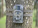 Wildkamera Bestok Wasserdichte Digitale Infrarot-Nachtsicht Wasserdicht Wild HD Jagd -Kamera Uberwachungskamera Jagdzeug Fotofalle Farb-CMOS+ SD-Speicherkarte