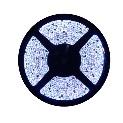 Gryphon Am-Led16Rgb Red/Green/Blue 16.4' Flexible Waterproof Ribbon Led Strip Light With Control Module And Wireless Remote Transmitter