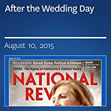 After the Wedding Day (       UNABRIDGED) by Ramesh Ponnuru Narrated by Mark Ashby