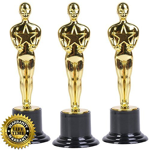 Image Result For Amazon Com Oscar Star Trophies For Award Ceremonies Or Parties High Perfect Achievement Awards Or Birthday Gifts For Kids And Adults Toys Games