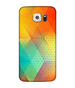 Chnno 3d pattern Printed Back Cover For Samsung Galaxy S7 edge