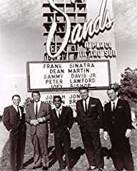 Frank Sinatra the Rat Pack Sands Hotel 8×10 Photo