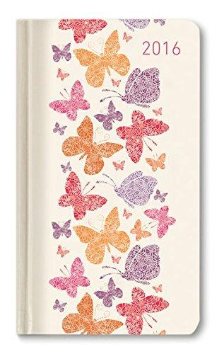 Alpha Edition 160876 Ladytimer Slim Butterflies Agenda Settimanale 2016 cm 9 X 156 128 Pagine PDF