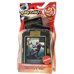 REDAKAI : X-READER STARTER PACK - 2 Sachets de 11 cartes + 1 boîte de rangement + 1 carte collector ! Cartes en 3D