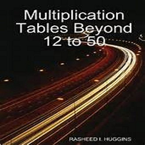 multiplications-beyond-12-to-50-english-edition
