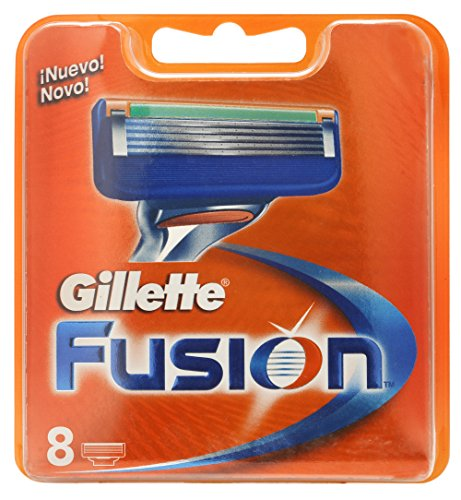 Gillette Fusion Lamette per Rasoio da Uomo, 8 Pezzi