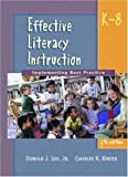 img - for Effective Literacy Instruction K-8: Implementing Best Practice (5th Edition) 5th edition by Leu, Donald J., Kinzer, Charles K. (2002) Paperback book / textbook / text book