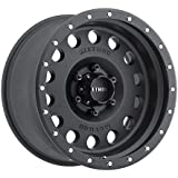 """Method Race Wheels Hole Matte Black Wheel with Stainless Steel Accent Bolts (17x8.5""""/5x5"""")"""